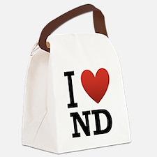 I-love-North-Dakota.png Canvas Lunch Bag