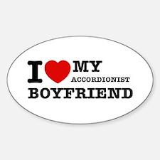 I love my Accordionists boyfriend Decal