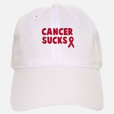 Cancer Sucks Baseball Baseball Cap