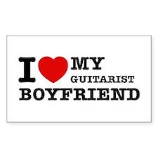 I love my Guitarists boyfriend Decal