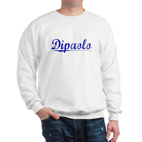Dipaolo, Blue, Aged Sweatshirt