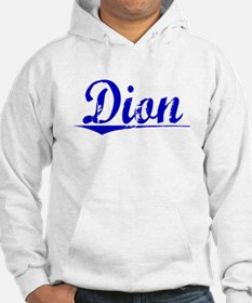 Dion, Blue, Aged Jumper Hoody