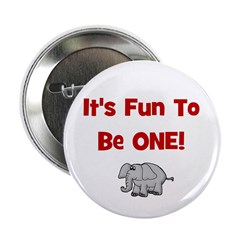 It's Fun To Be One! w/ Elepha Button