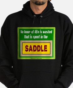 In The Saddle-Winston Churchill/t-shirt Hoody