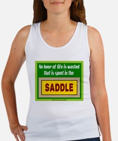 In The Saddle-Winston Churchill/t-shirt Women's Ta