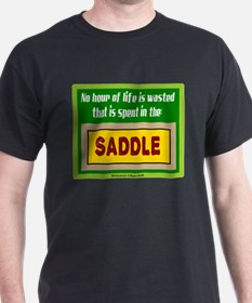 In The Saddle-Winston Churchill/t-shirt T-Shirt