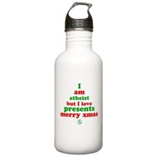 Atheists Love Presents Water Bottle