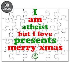 Atheists Love Presents Puzzle