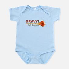 Splattered Gravy Not Sauce Infant Bodysuit