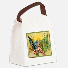 American Irish Canvas Lunch Bag