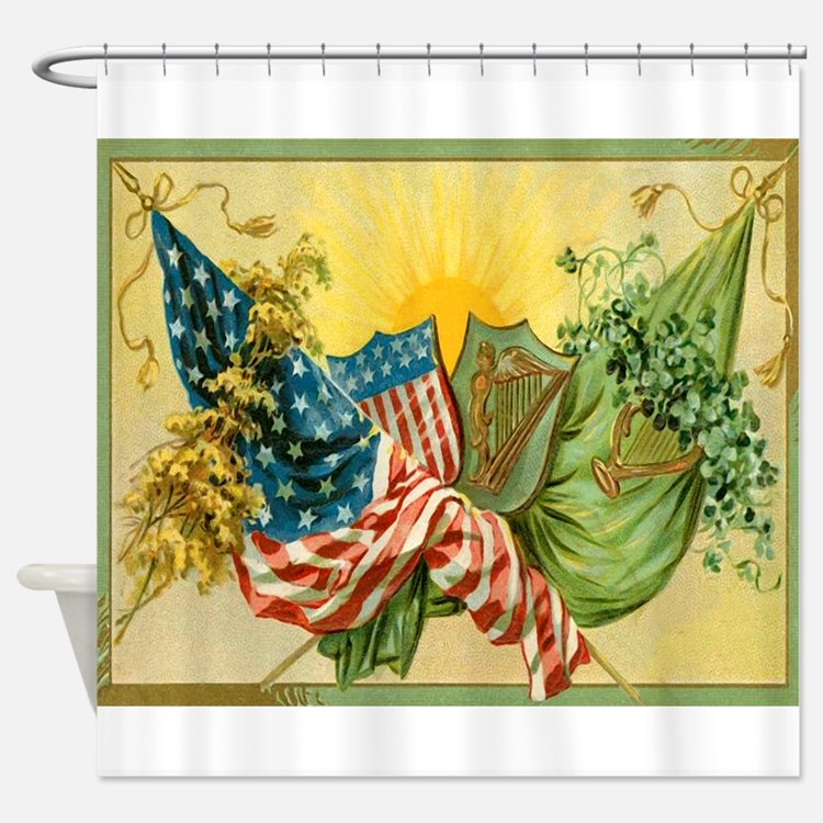 American Irish Shower Curtain