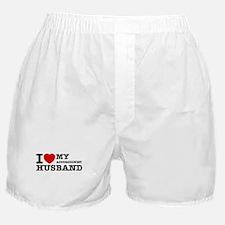 I love my Accordionists husband Boxer Shorts