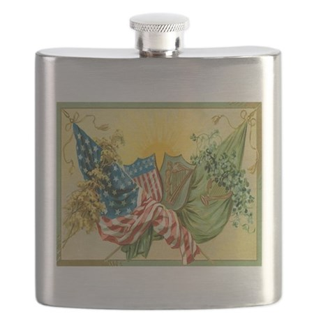 American Irish Flask