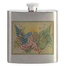 American Irish Flask