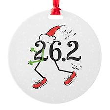 Holiday 26.2 Marathoner Ornament