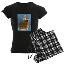 Will Run For Cake pajamas