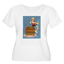 Will Run For Cake T-Shirt