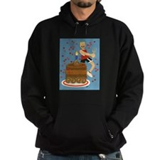 Will Run For Cake Hoodie