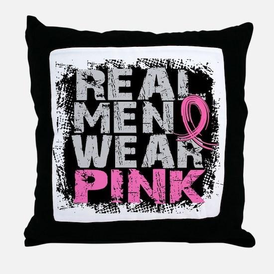 Real Men Wear Pink 1 Throw Pillow