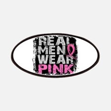 Real Men Wear Pink 1 Patches