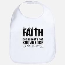 Faith Is Not Knowledge Bib