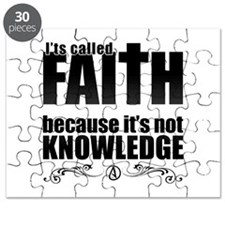 Faith Is Not Knowledge Puzzle