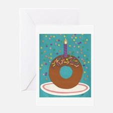 Donut Greeting Card