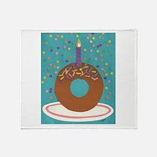 Donut Throw Blanket
