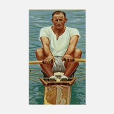 The Rower Decal
