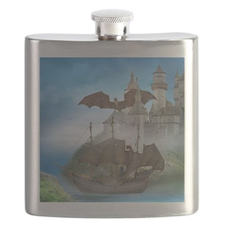 Dragon Castle Flask
