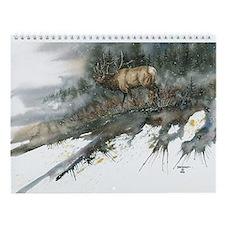 Wildlife Calendar Wall Calendar