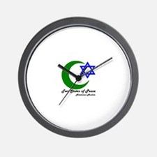 Two States Wall Clock