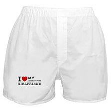 I love my Accordionist girlfriend Boxer Shorts