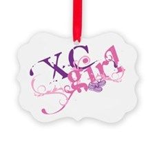 Cross Country Girl Ornament