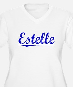 Estelle, Blue, Aged T-Shirt