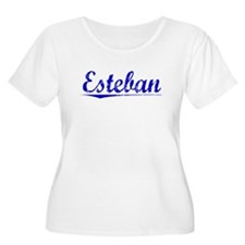 Esteban, Blue, Aged T-Shirt