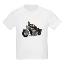 Kids Biker Box Turtle T-Shirt