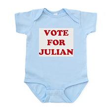 VOTE FOR JULIAN  Infant Creeper