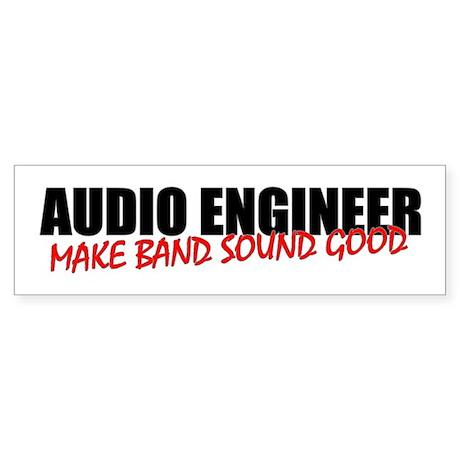 Audio Engineer Bumper Sticker