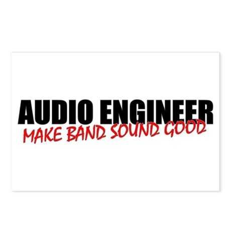 Audio Engineer Postcards (8 Pack)