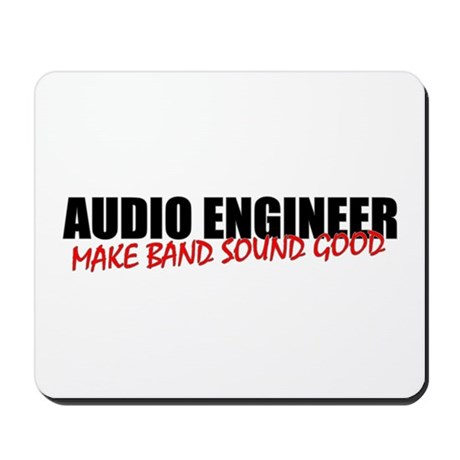 Audio Engineer Mouse Pad