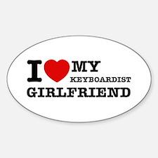 I love my Keyboardist girlfriend Decal