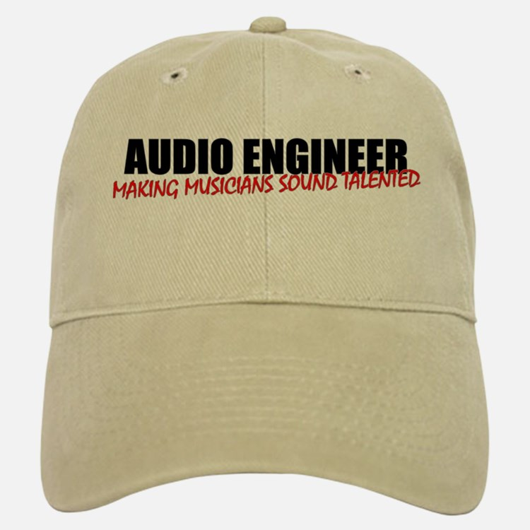 Audio Engineer Baseball Baseball Cap