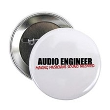 "Audio Engineer 2.25"" Button / Badge"