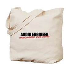 Audio Engineer Tote bag