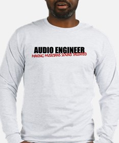 Audio Engineer T-Shirt (men's long sleeve light)