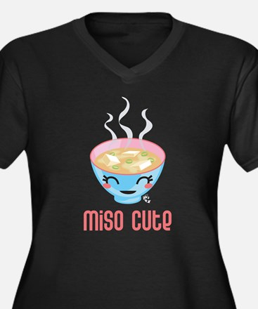 Miso Cute Plus Size T-Shirt