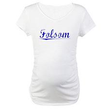 Folsom, Blue, Aged Shirt