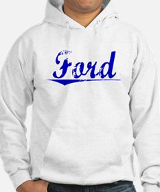 Crawford, Blue, Aged Jumper Hoody