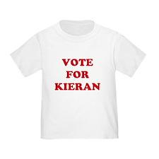 VOTE FOR KIERAN  T
